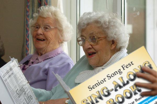 De ouder wordende zangstem